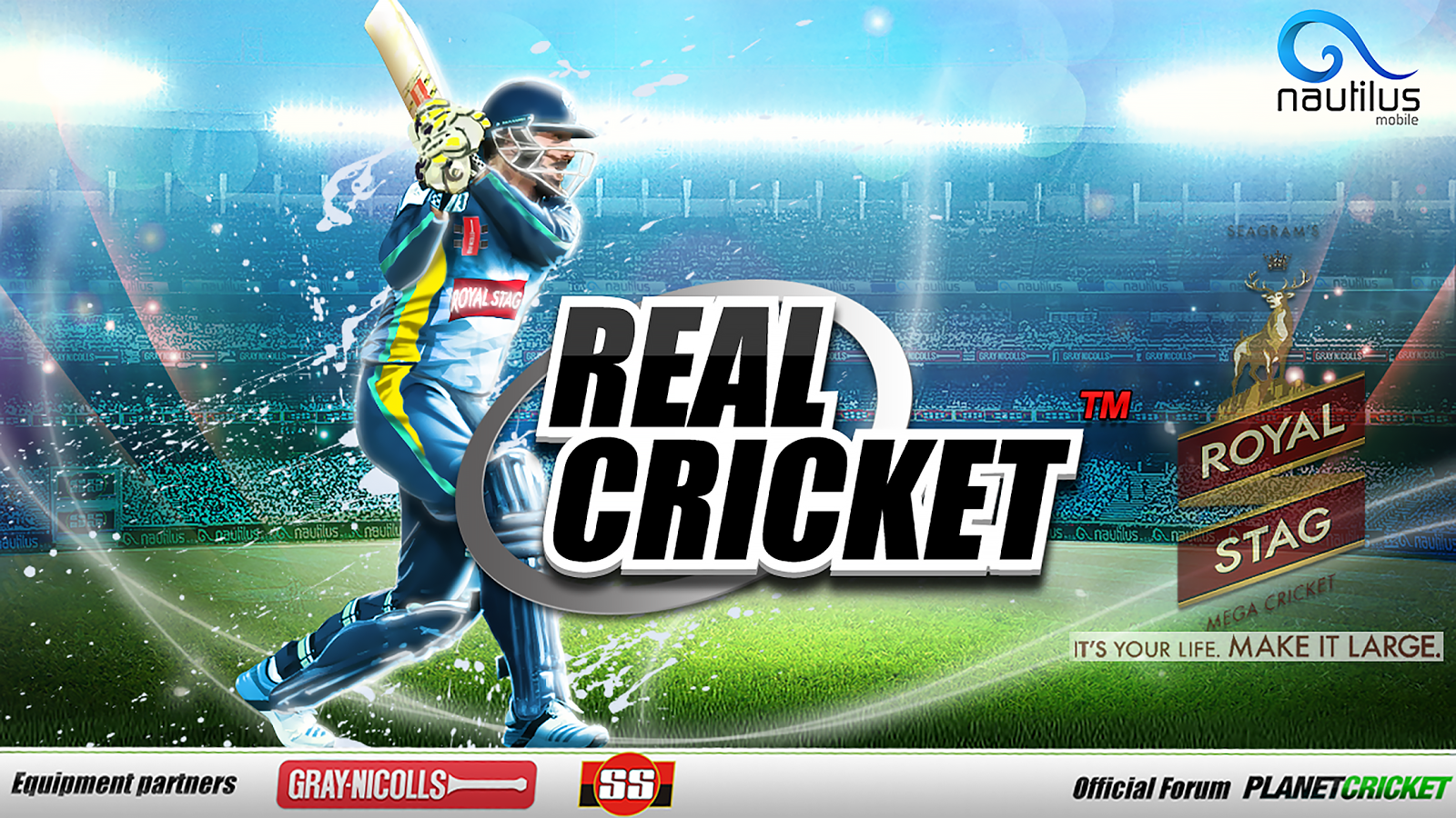 Download Real Cricket 14 apk obb 2 2 2 Data Modded Unlimited