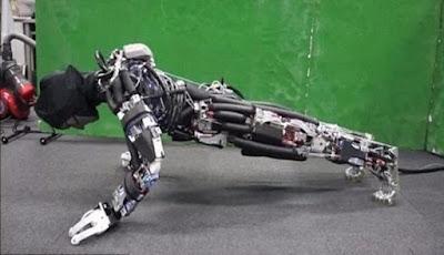 Kengoro, Robot Super Kuat Yang Bisa Berkeringat