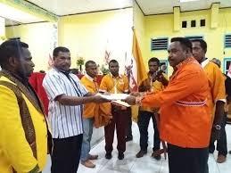 Martinus Salamuk Nakhodai Partai Hanura Sorsel