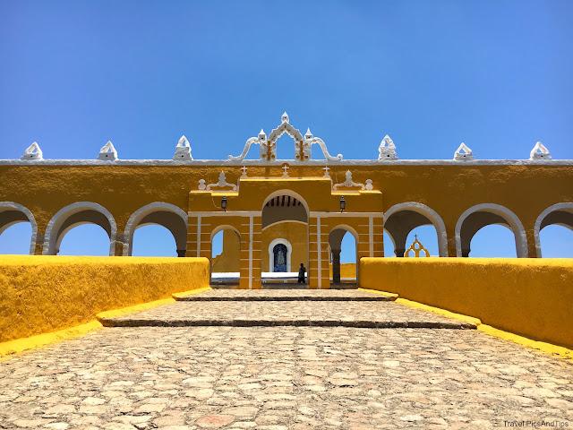 Izamal, couvent San Antonio de Padua, Yucatan, Mexique