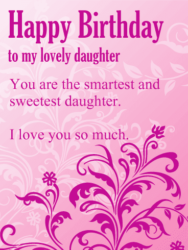 Funny Happy Birthday Wishes | Quotes and Images for Beautiful Daughter