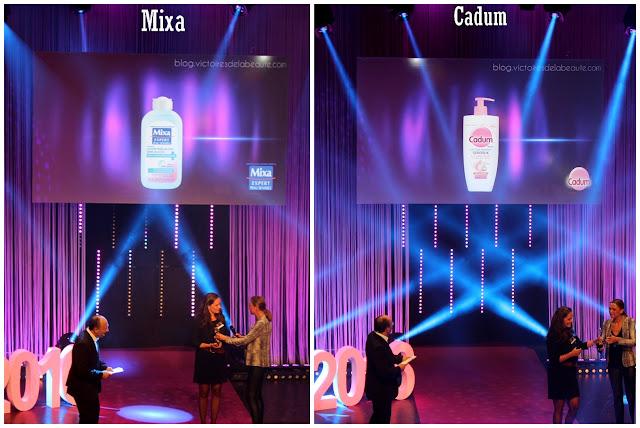 Lauréat Les Victoires de la Beauté 2015/2016 : Mixa - Cadum - Les Mousquetettes©