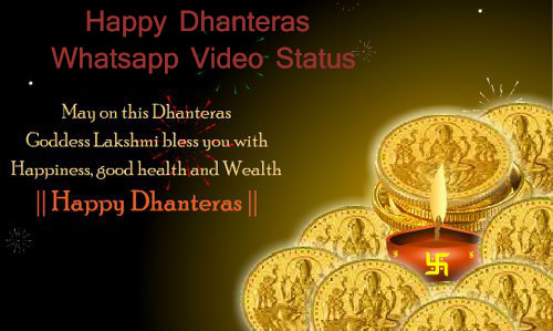 Happy Dhanteras Whatsapp Video Song Status 2018