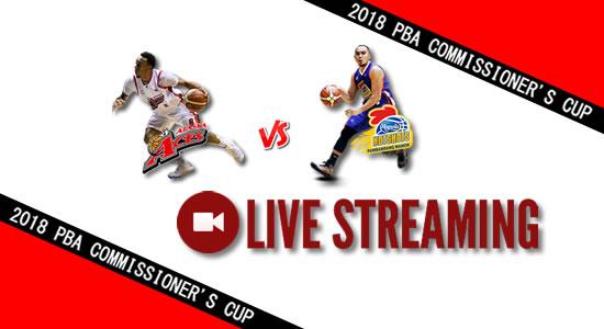 Livestream List: Alaska vs Magnolia June 10, 2018 PBA Commissioner's Cup