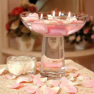 Beautiful Pink Wedding Table Centerpieces