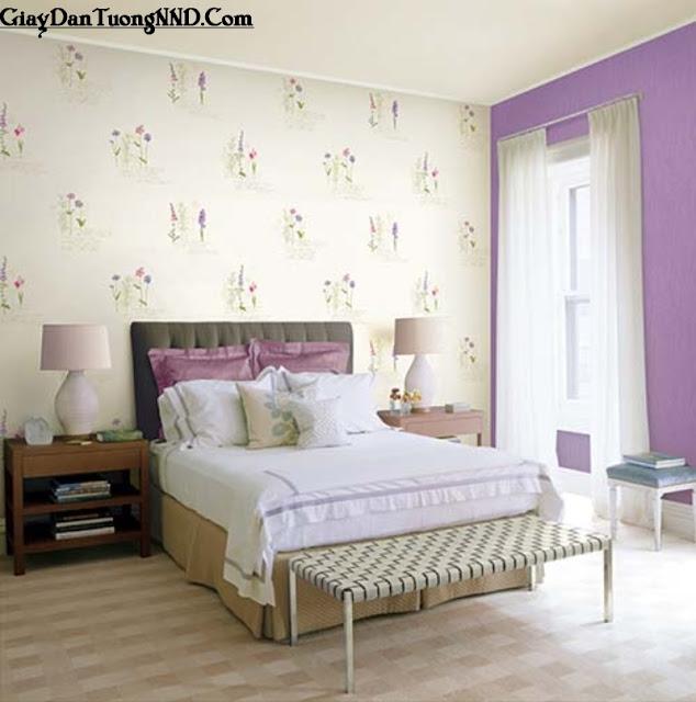 Giấy dán tường phòng ngủ phù hợp theo từng diện tích phòng