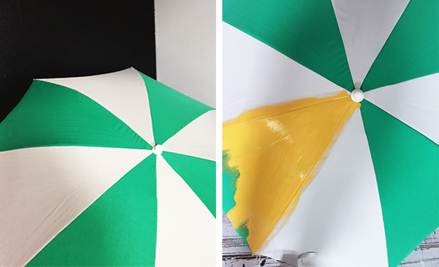 Alisaburke Painted Patio Umbrella