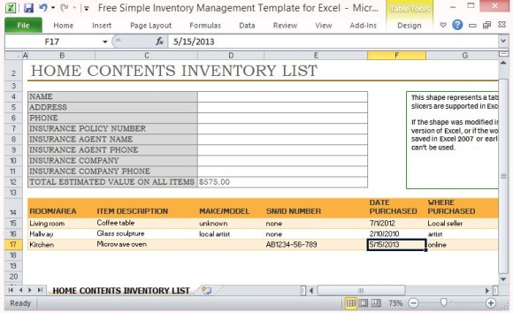 download landlord inventory templates in microsoft word
