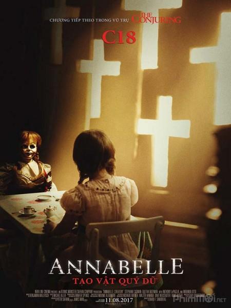 Búp Bê Ma Ám 2 : Tạo Vật Quỷ Dữ - Annabelle 2: Creation (2017)
