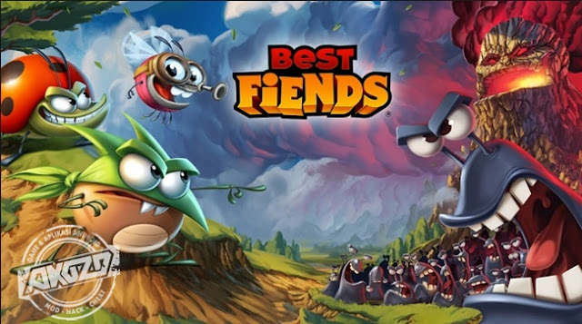 Best Fiends Forever v2.4.1 Mod Apk Terbaru Unlimited Money