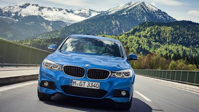Next Gen 2018 BMW 3 Series blue color Hd Pictures