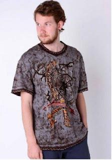 Kaos Batik Modern Elegan