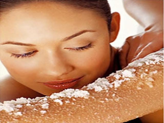 esfoliação corporal caseira