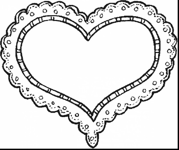 Fabulous Printable Valentine Hearts Coloring Pages With Love You Coloring  Pages And Love You