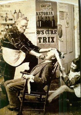 Dentista em 1872..