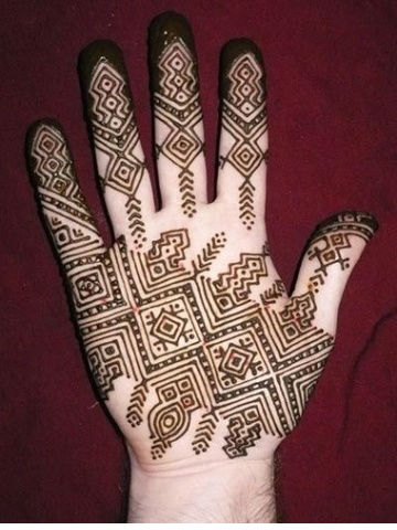 Mehndi Design for Groom hands
