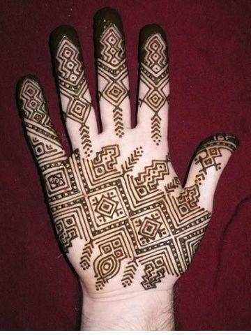 Mehndi Design for Groom hands