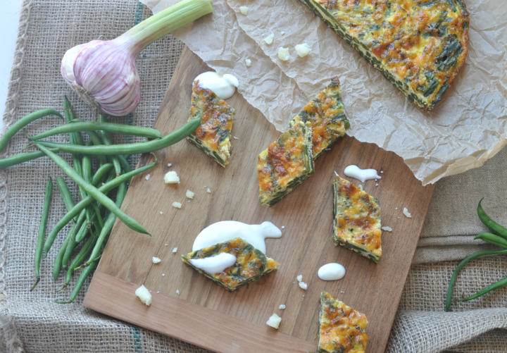 Green-Bean-Tortilla, a glutenfree summer dish for picnics or long evenings with friends