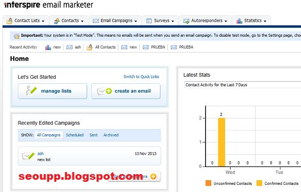سكريبت Interspire Email Marketer Version 6.1.3 لادارة حملات التسويق عبر الايميل 2017