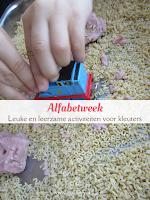 Alfabetweek - leuke en leerzame activiteiten voor kleuters