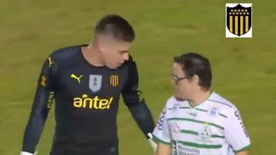 Kevin Dawson, portero de Peñarol,