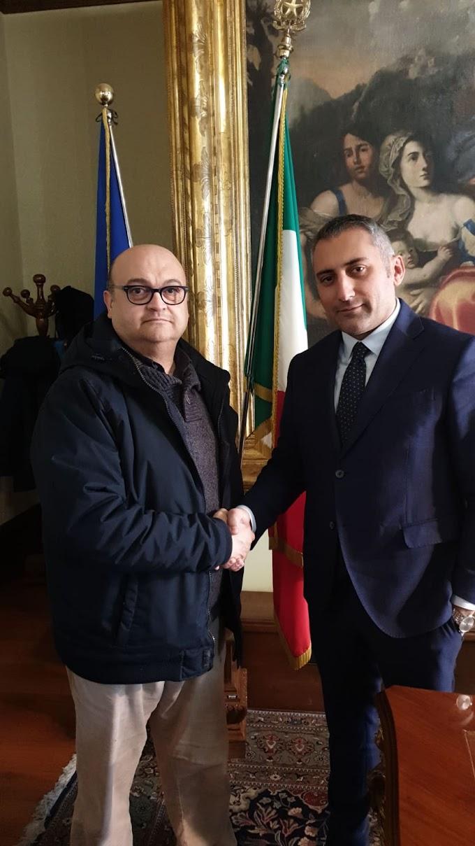 Matera: Giordano (Ugl) incontra il presidente della Provincia Marrese