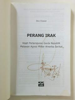 Perang Irak Penulis Ibra Erawan