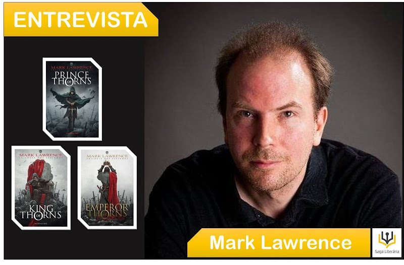 [ENTREVISTA #04] CONVERSAMOS COM MARK LAWRENCE