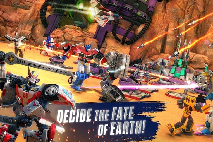 10 Game Transformers Offline dan Online Android Terbaik 2019