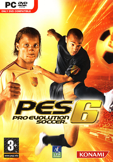 PES 2006 Cover