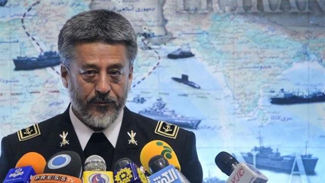Iran Navy remit stretches thousands of kilometers: Commander Rear Admiral Habibollah Sayyari