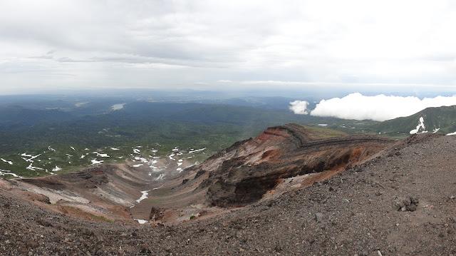 Ascendiendo el monte Asahidake en Hokkaido