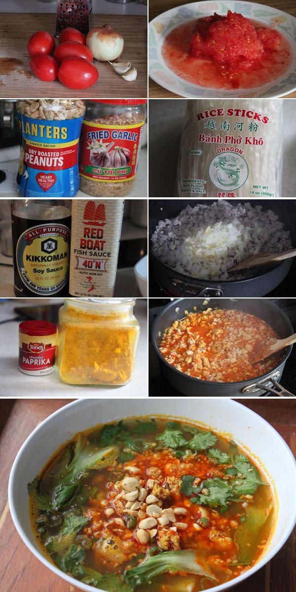 Shan Noodles Ingredients