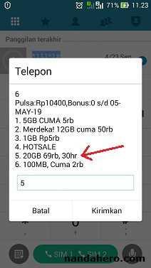 Promo Paket Internet Tri (3) 20GB Rp69.000 Bulanan