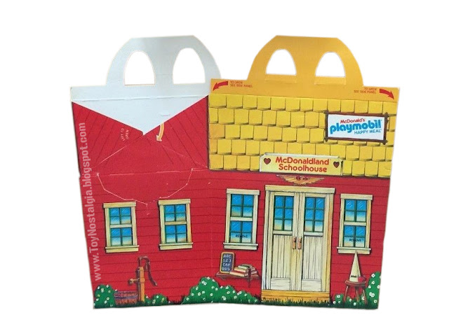 Playmobil Schaper Mc Donald's Happy Meal set