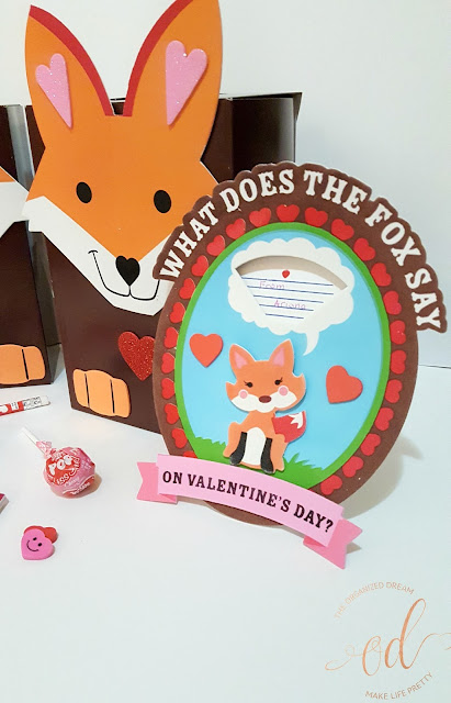 Fun Foxy Valentine's Day Goodie Bags | Kids Crafts | Valentine Ideas | DIY | Gift Ideas