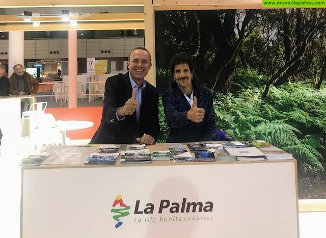Turismo La Palma lleva el deporte en la naturaleza como producto estrella a la Feria Intur de ValladolidTurismo La Palma lleva el deporte en la naturaleza como producto estrella a la Feria Intur de Valladolid