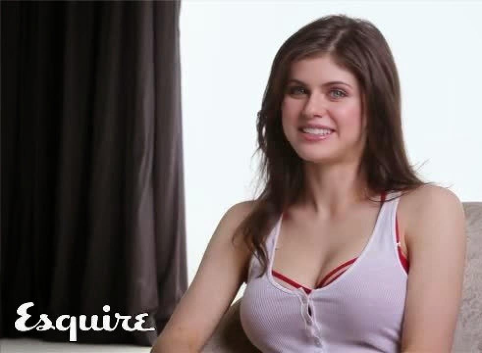 Alexandra Daddario - Exquire