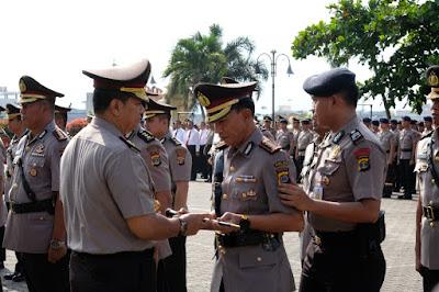 Kapolda Lampung Pimpin Sertijab Pejabat di Polda