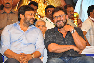 megastar Chiranjeevi at MB40 Years Celebrations HD Stills