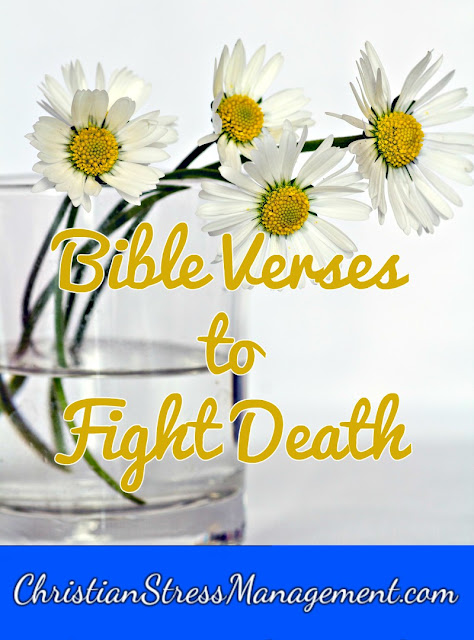 Bible verses to fight death