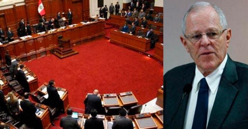 Polémica por Resolución Legislativa preliminar del Congreso que declara a PPK como «traidor a la patria»