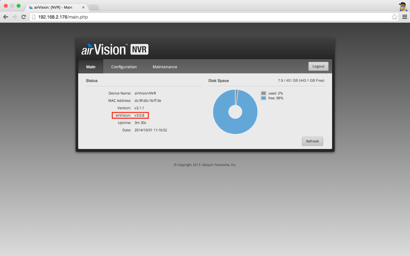 Go Wireless NZ Blog: AirVision-C NVR Upgrade to UniFi-Video