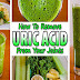 Natural Recipe For Removing Uric Acid From Your Joints!