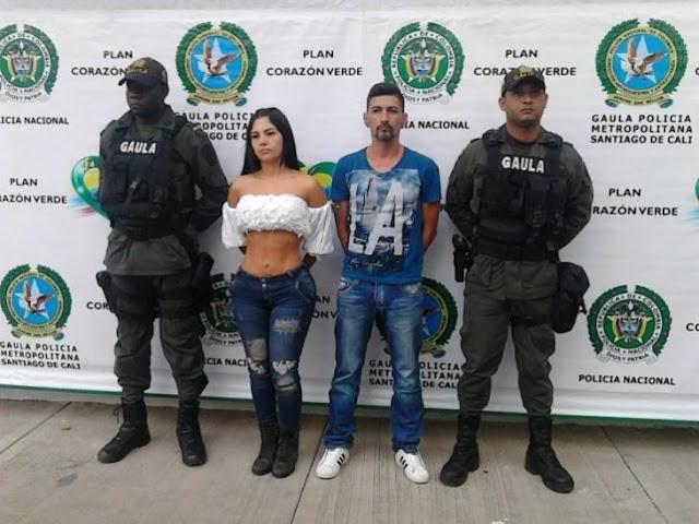 Arrestan a sexi presentadora colombiana; usó sus encantos para secuestrar y matar a 2 hombres