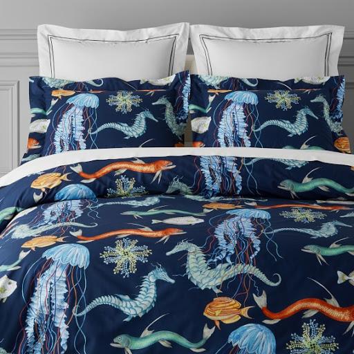 Under the Sea Print Bedding