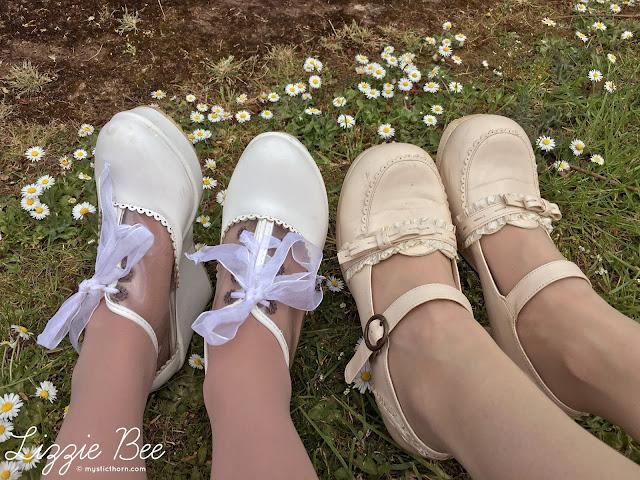 himekaji gyaru kawaii shoes