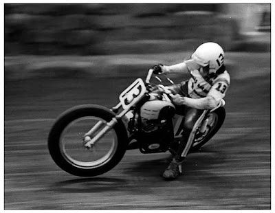Crossed Up Flat Tracker Dave Aldana by Photo Tim