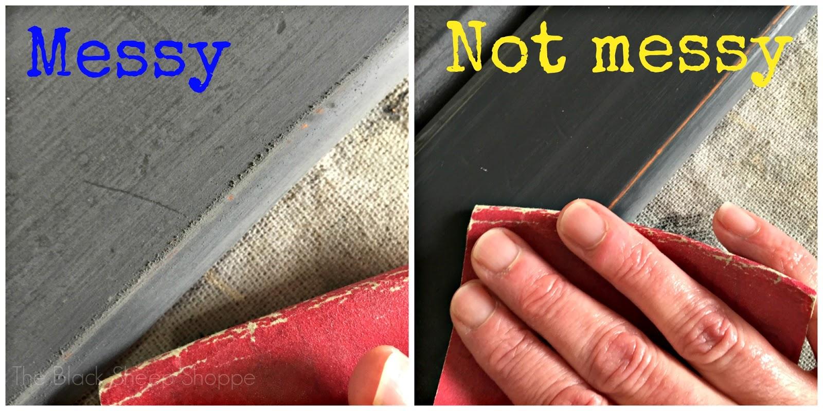 Dry sanding vs wet sanding
