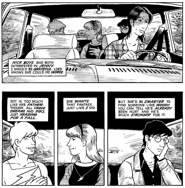 Zot! The Complete Black and White Collection by Scott McCloud.